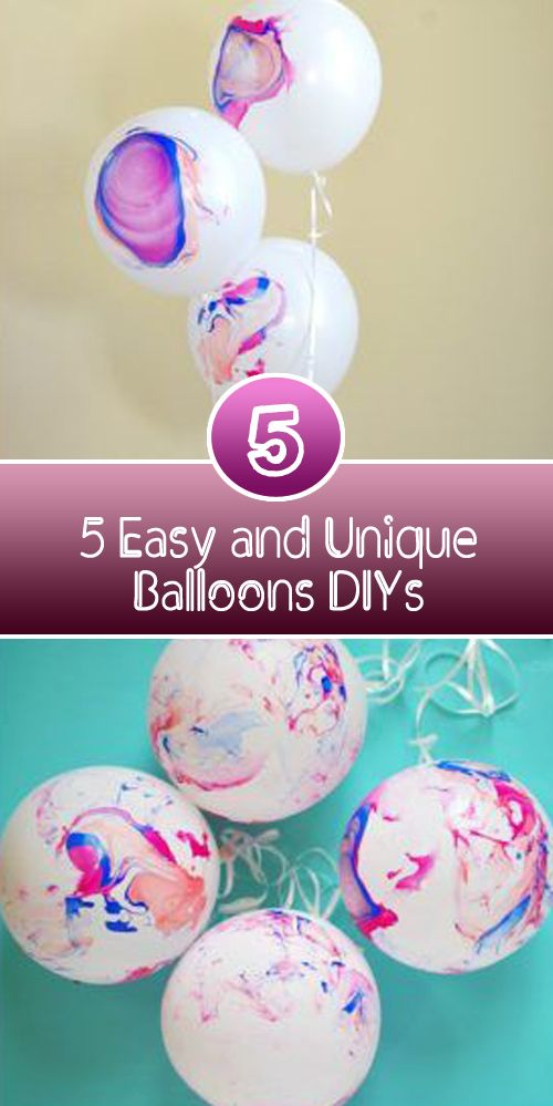 Balloons have multiple uses. They can be used to decorate the birthday parties, to make the entrance beautiful and more attractive. Balloons can be used to make water bums and also festive ice balls. Need motivation for balloon DIYs? From attractive balloons to cute flip-flops, click on the instructions and guideline links and see some …
