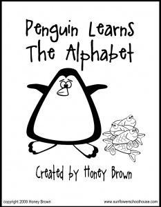 Penguin Learns the Alphabet - Free e-Book.