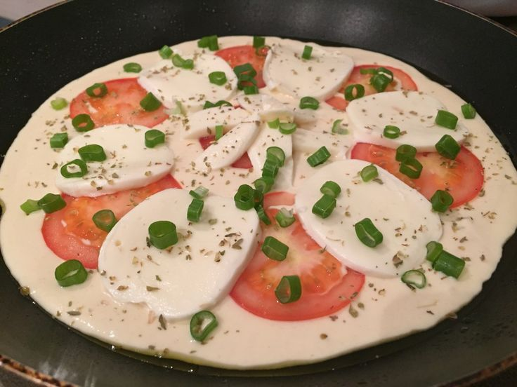 Schnelle Pizza aus der Pfanne in 15 Minuten Recipe Pizzas and - 15 minuten küche