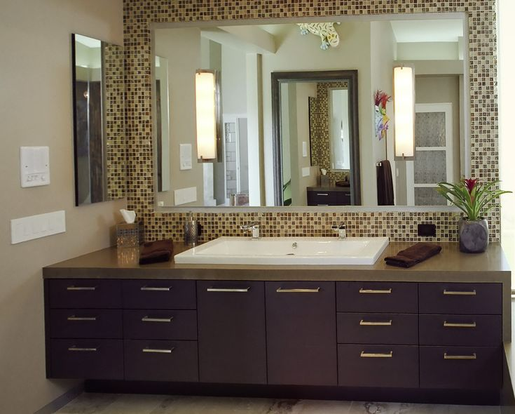 bathroom bathroom mirror framed tile home design ideas intended for