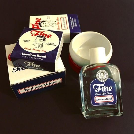 A unique combination of shaving fine shaving products! #fineaccoutrements #traditionalshaving #shavingbowl #aftershave #shavingproducts #shavetime #shavingsoap #shavingbowl #americanblend