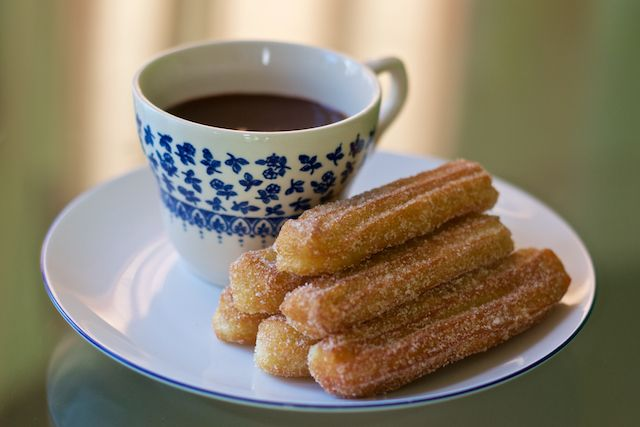 Churros and Chocolate Recipe