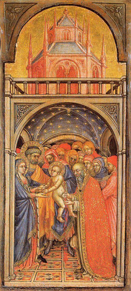 Ottaviano Nelli - Circoncisione di Gesù - 1425 ca. - Pinacoteca Vaticana