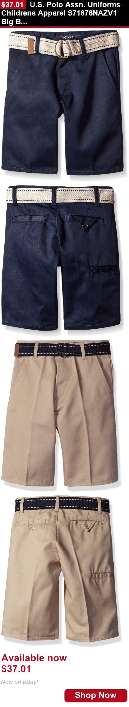 Boys uniforms: U.S. Polo Assn. Uniforms Childrens Apparel S71876nazv1 Big Boys BUY IT NOW ONLY: $37.01