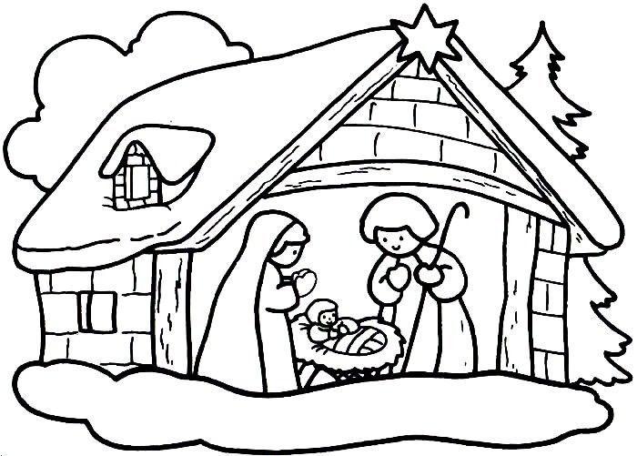 Imagenes navidad para colorear gratis