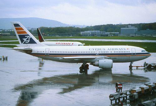 22ac - Cyprus Airways Airbus A310-203; 5B-DAQ@ZRH;02.05.1998