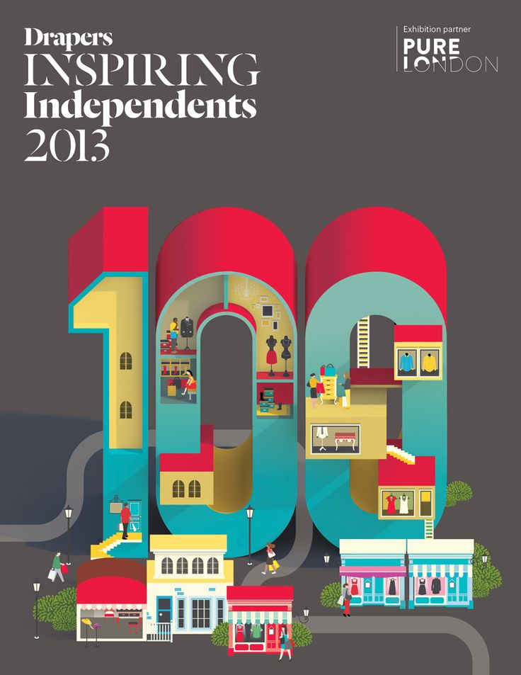 Drapers - 100 inspiraing Indie shops in London - Jing Zhang illustration