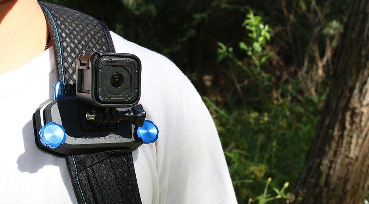 GoPro Hero4 Session BackPack Mount