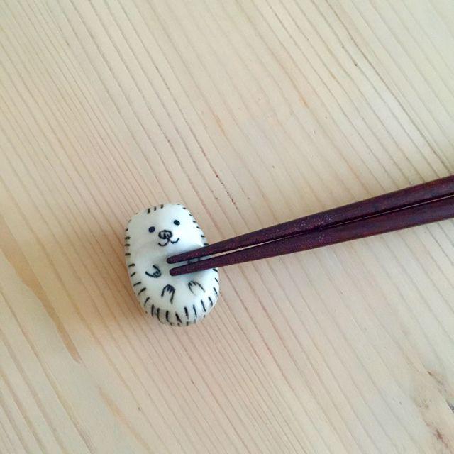 ハリネズミ 箸置き【再販】