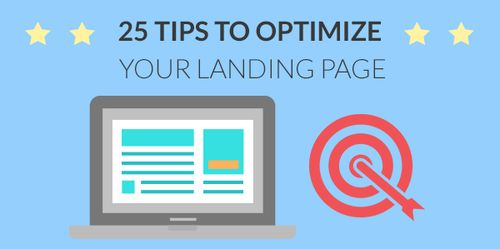 25 tips to optimize landing pages