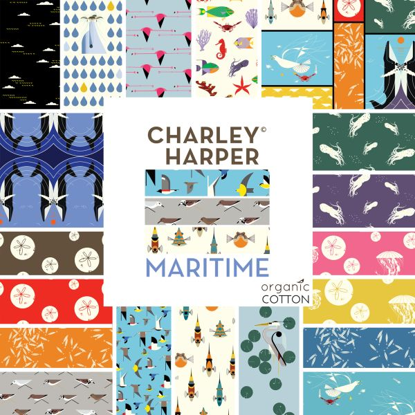 """Maritime"" Fat Quarter Bundle - Click Image to Close"