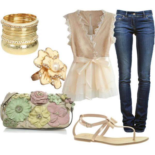 Summer nights, created by nickirock on Polyvore: Summer Night
