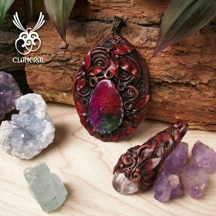 Handcrafted Crystal Amulets and Mineral Bead Bracelets