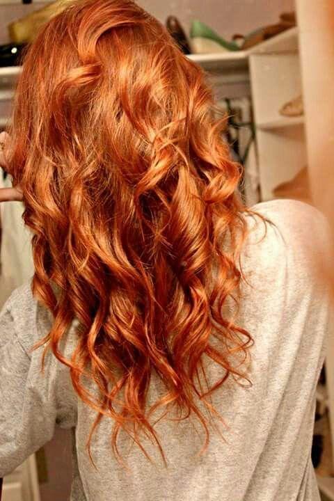 Kupfer haare styling