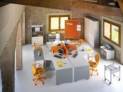 Te presentamos la gama wrk muebles de oficina que con un for Mobiliario ergonomico