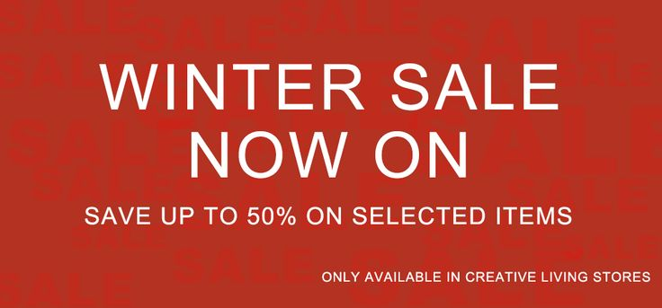 Get to the Great Winter Sale at a showroom near you!