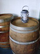 Whole oaked barrel, great for bar leaner
