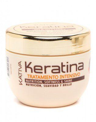 Маска для поврежденных и хрупких волос кератиновая интенсивно восстанавливающая KERATINA Kativa, 250 мл. от Kativa за 699 руб!