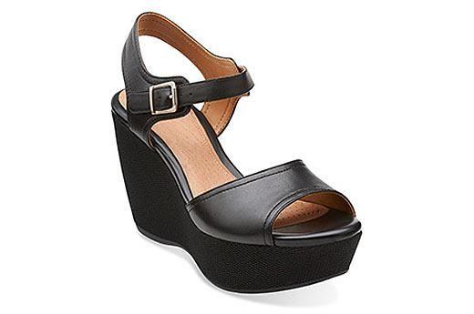 Nadene Lola Black Leather