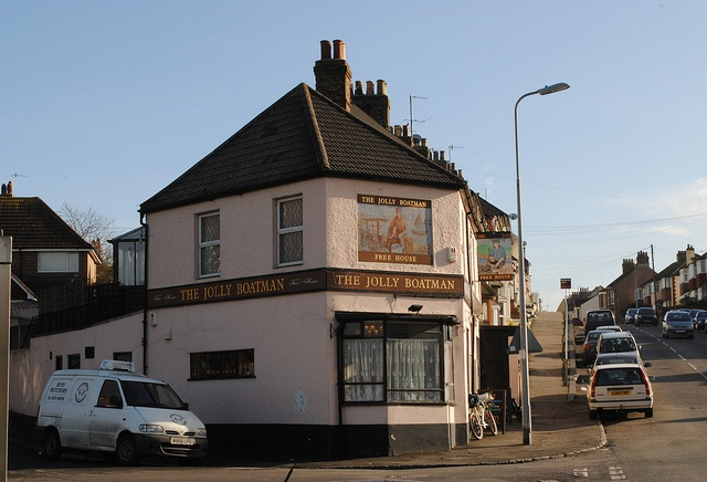 The Jolly Boatman pub, Lewes Road, Newhaven East Sussex by pondhopper1, via Flickr