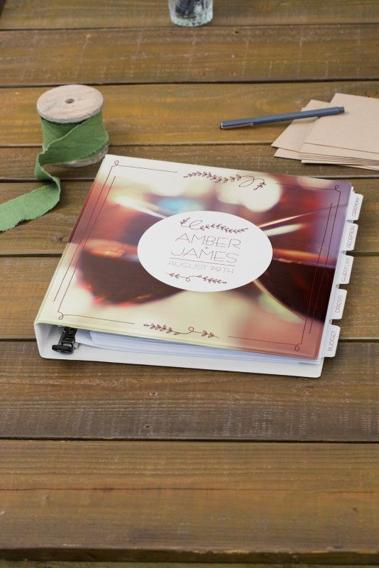 I love this pretty, personalized wedding planner. I'm pinning it for a chance to win a share of $7,500 in cash, plus Avery Products in the Avery 2015 Wedding Sweepstakes! Avery is giving away three monthly prizes of $1,000 plus a grand prize of $4,500. Contest runs 4/1/15 through 6/30/15. Rules here: avery.com/weddings. [Promotional Pin]