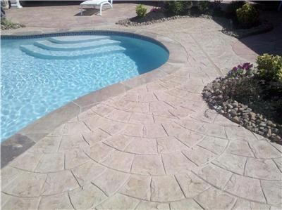 1000 Images About Concrete Around Pool Ideas On Pinterest