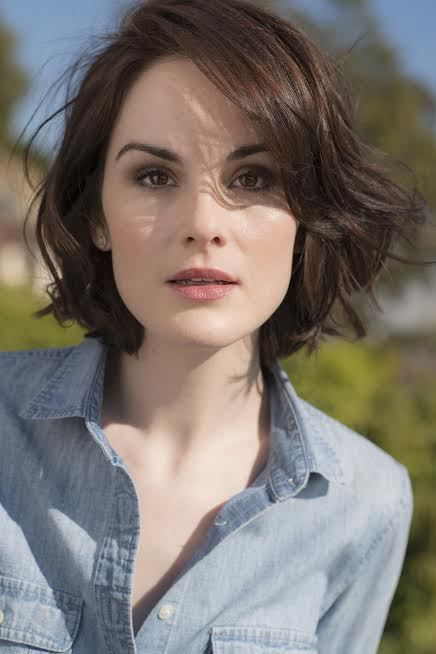 Hair length ~ Michelle Dockery                                                                                                                                                                                 More
