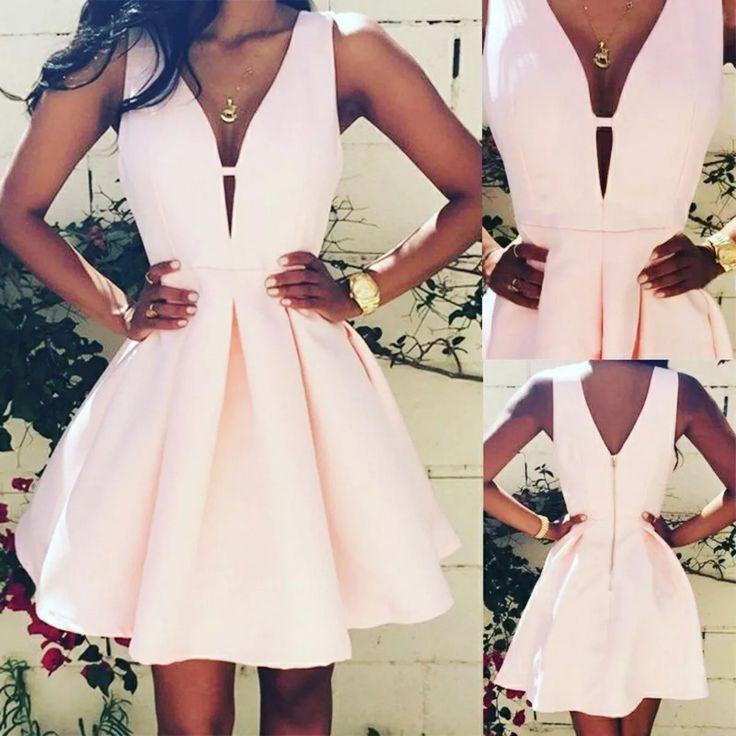 vestido tipo cóctel