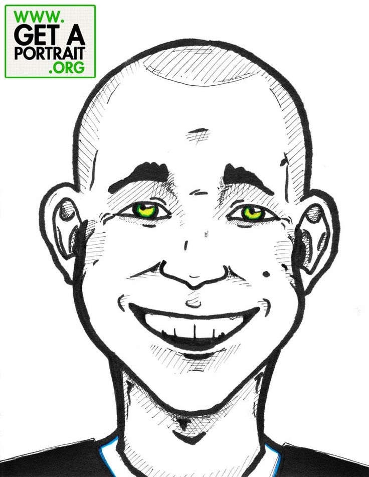 Portrait of Caleb Wojcik — Get a high quality PORTRAIT or CARICATURE from a pro, for an unbeatable price! GetAPortrait.org