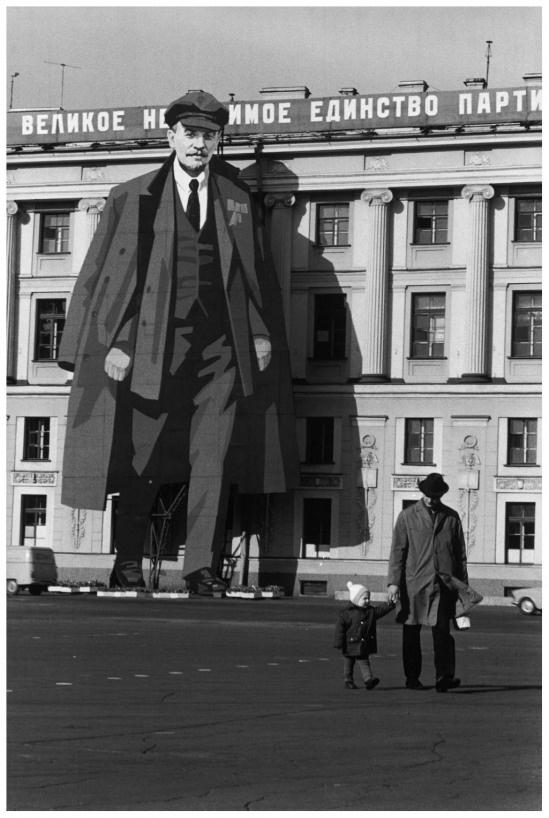 Henri Cartier-Bresson, Leningrad,1973.