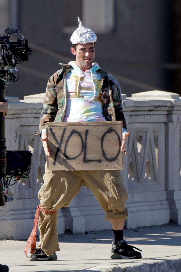 "Adam Levine In the new Lonely Island video ""Yolo (feat. Adam Levine and Kendrick Lamar)"". Check it out on YouTube , it's hilarious!!!!"