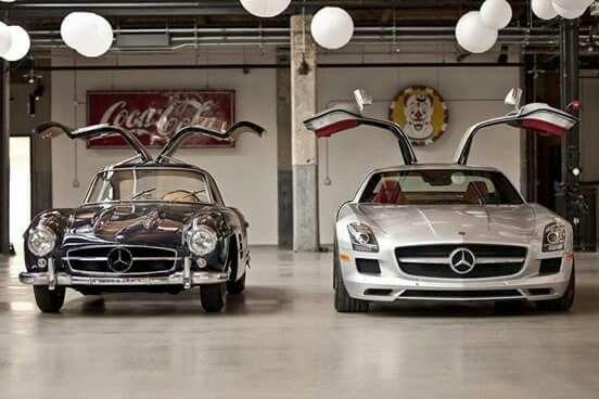 Mercedes 500SL & SLS?