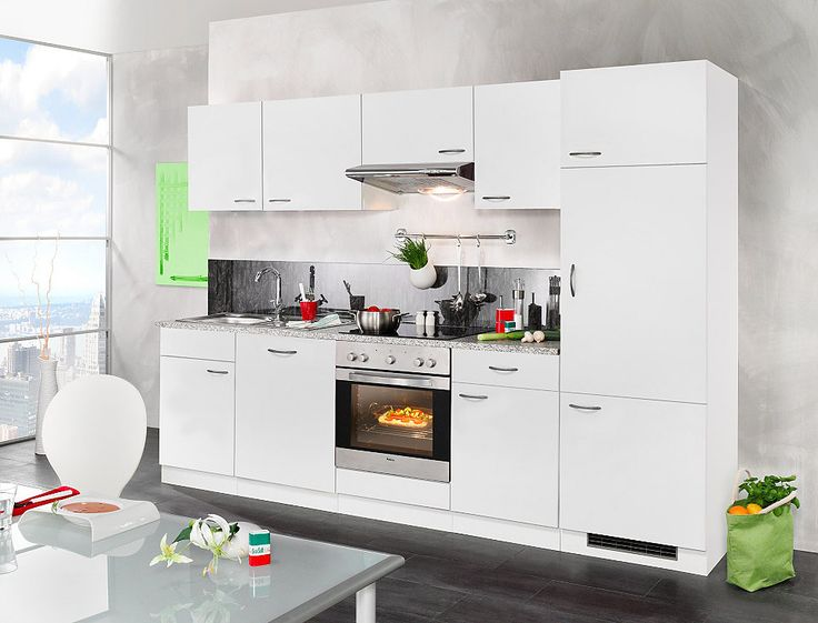 25+ beste ideeën over Küche mit elektrogeräten op Pinterest - k chenzeile mit elektroger ten ikea