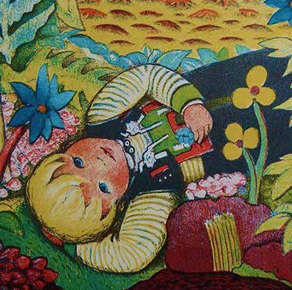 4 Ingri & Edgar Parin d'Aulaire 1930s Illustrations