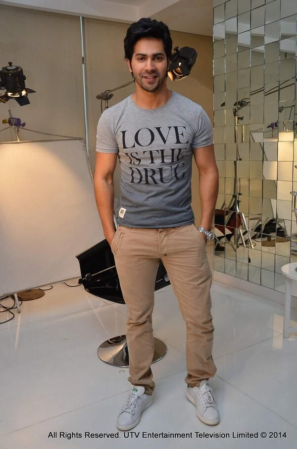 Varun Dhawan at an exclusive inerview