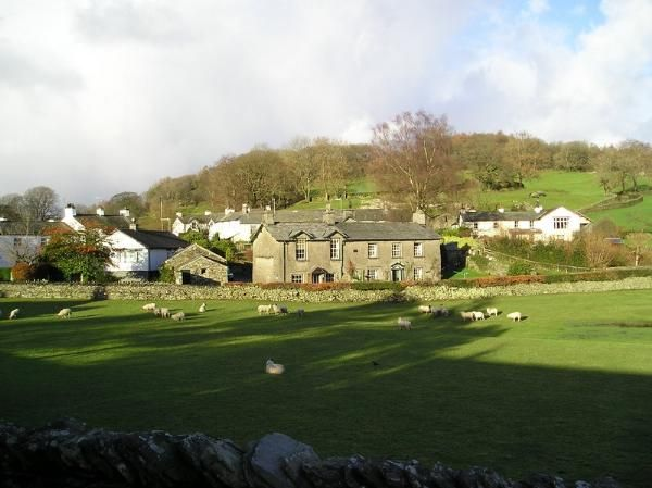 beatrix potter house -Castle Cottage is where Beatrix Potter lived in married life as Mrs W Heelis. Castle Cottage is the white house on right of photo.