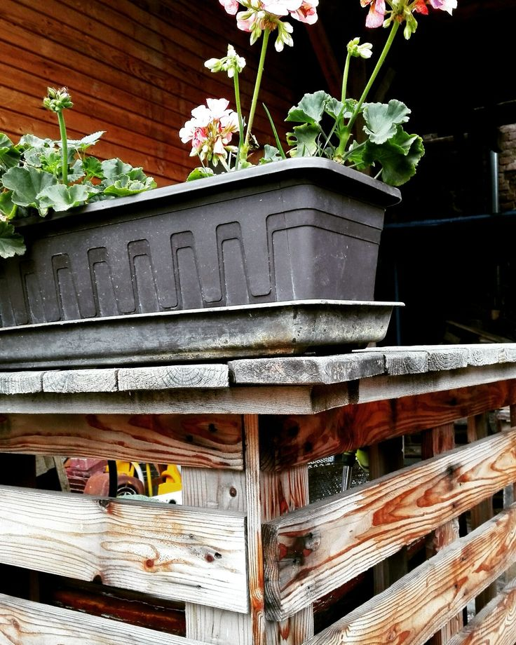 Garden equip cover made of pallets 👍