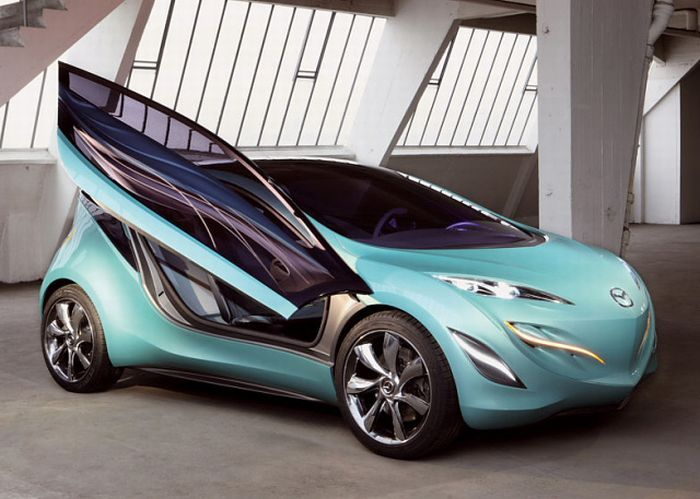 Bon 2008   Mazda Kiyora Concept   It Is The First Mazda Concept To Express  Nagare U0027flowu0027 In The Patterns And Colours Of Water.