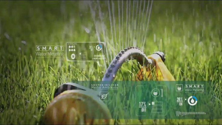 Regador de Agua con tecnología Smart  Smart Cities  Ciudades inteligentes