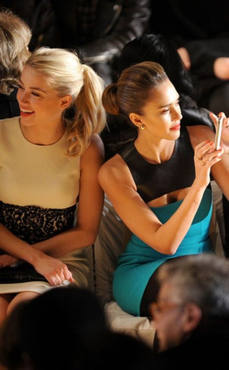 Amber Heard, Jessica Alba