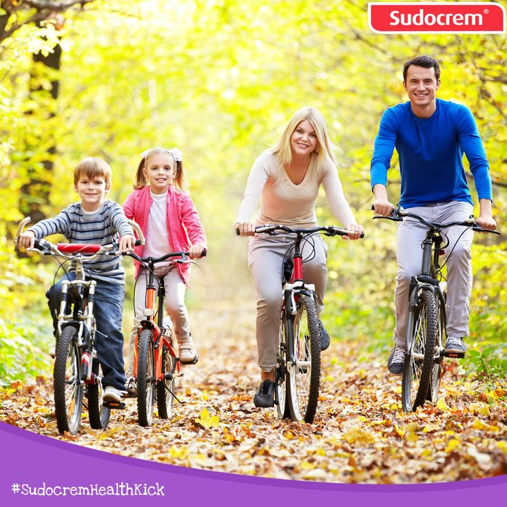 A family bike ride!
