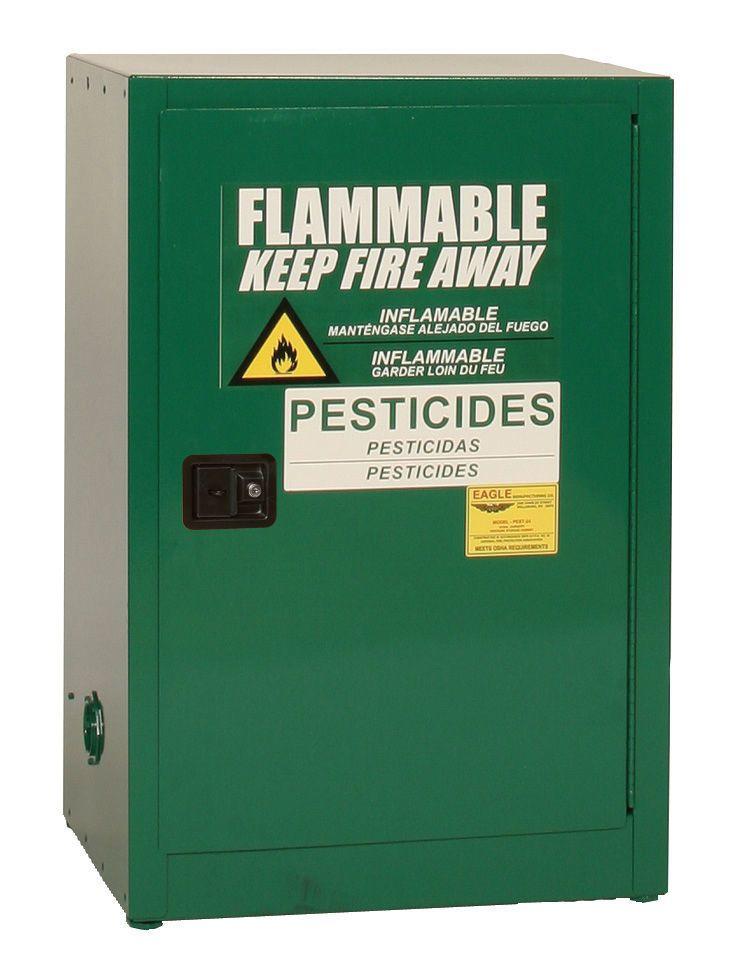 Eagle Pesticide Safety Cabinet 12 Gallon Safety Locker Storage Cabinet