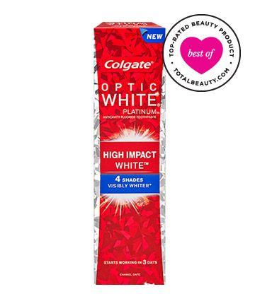 Best Toothpaste No. 5: Colgate Optic White Platinum High Impact White Toothpaste, $3.99