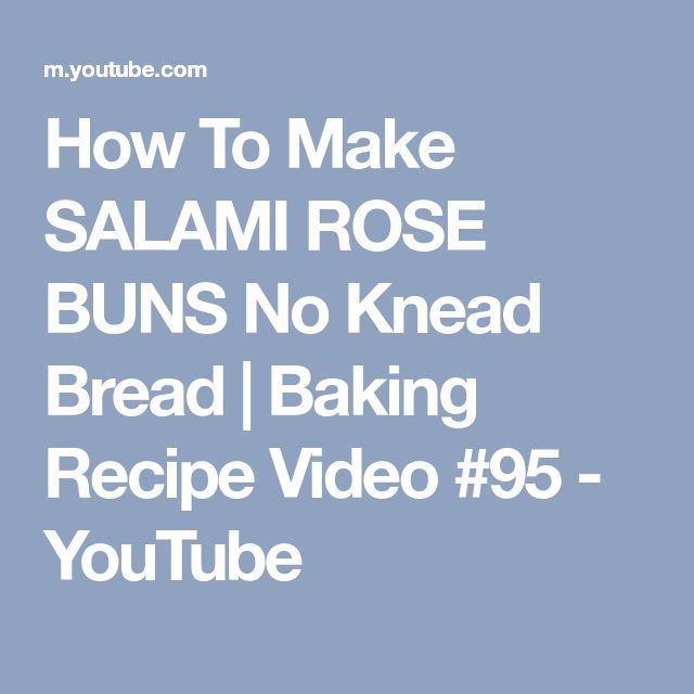 how to make buns video