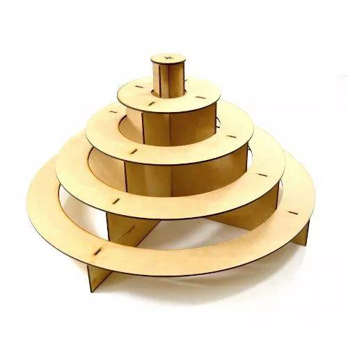 Exhibidor Soporte Base Circular Para Cupcakes Mesa De Dulces - $ 99.00