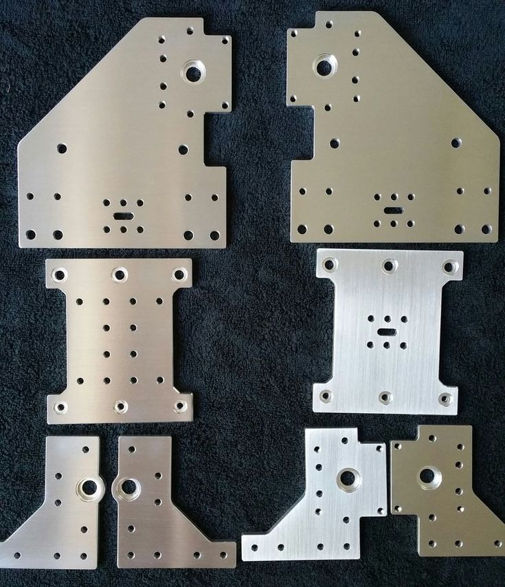 A set of 8 Aluminum Gantry Plates for Kyo's Sphinx CNC machine. The Sphinx CNC was designed by Kyo, the plates are made in the USA by Blue Ox Solutions (Chris Laidlaw). | eBay!