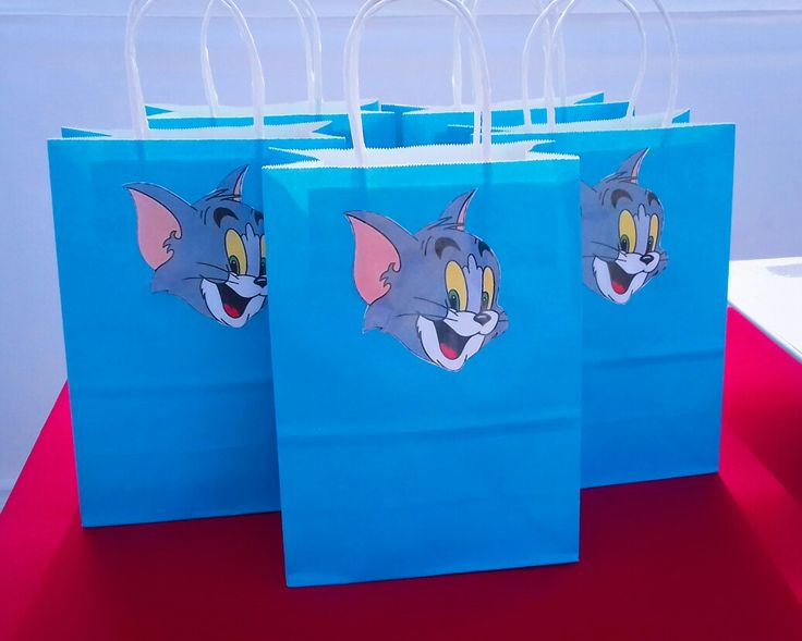 Tom and jerry kids party favours