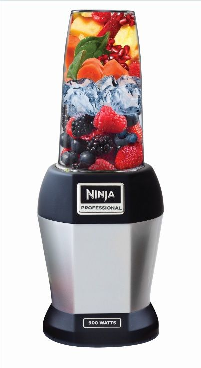 With the Nutri Ninja, you can have a silky smooth cool cup of goodness made entirely from whole fruits, vegetables & ice cubes.