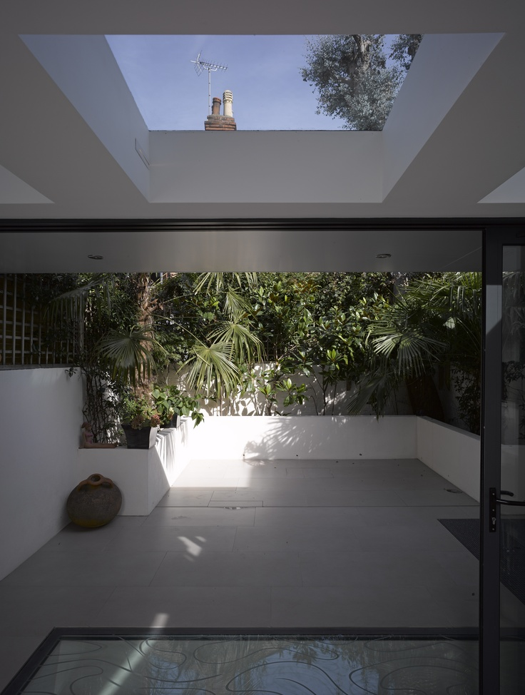 Skylight & Light well | Private house | London SW6 | Giles Pike Architects.