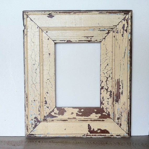 New Orleans Reclaimed Wood Frame - Beadboard - Antique White, Light Blue -  Reclaimed Frame - 17 Best Images About Shop: Reclaimed. One Of A Kind. On Pinterest